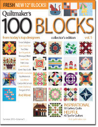Quiltmaker's 100 Blocks Volume 5