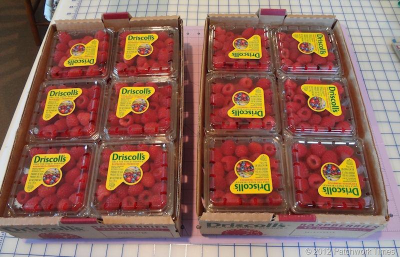 Raspberries on Sale
