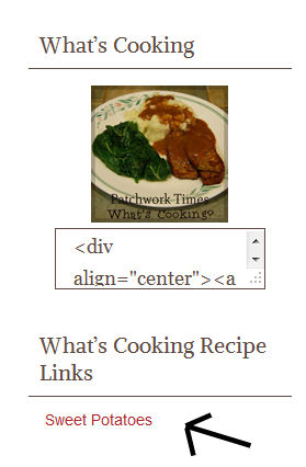 Links to Recipes