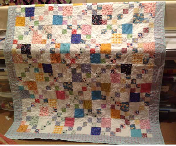 Quilts for West – Week 1