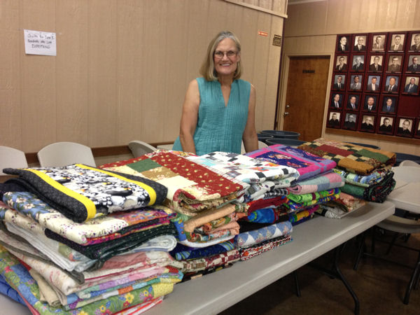 Quilts Delivered in West