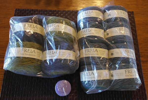 The Vacationing Yarn Has Arrived