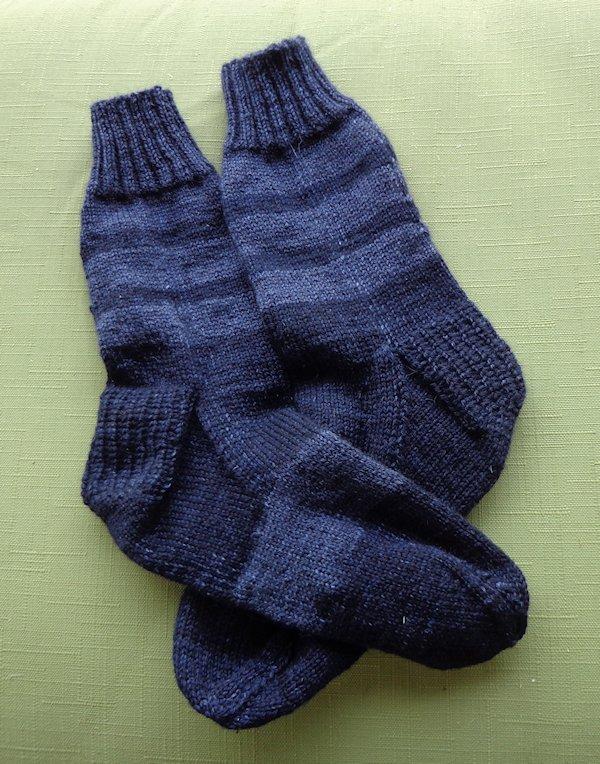 Arctic Qiviut Socks Finished
