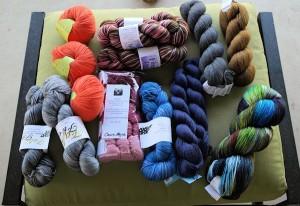 Incoming Yarn