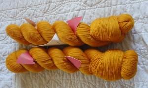 Saffron Wollmeise Pure