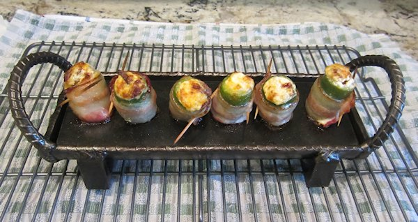 Grilled Stuffed Jalapeno Peppers