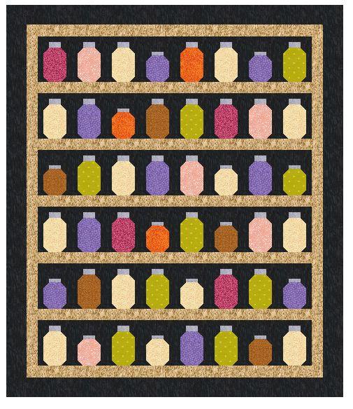 Jar Quilt — Patchwork Times by Judy Laquidara : jar quilts - Adamdwight.com