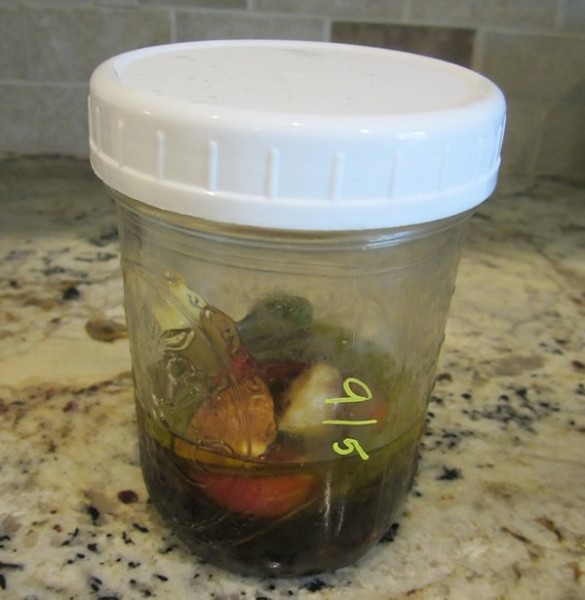 Jars Labeled