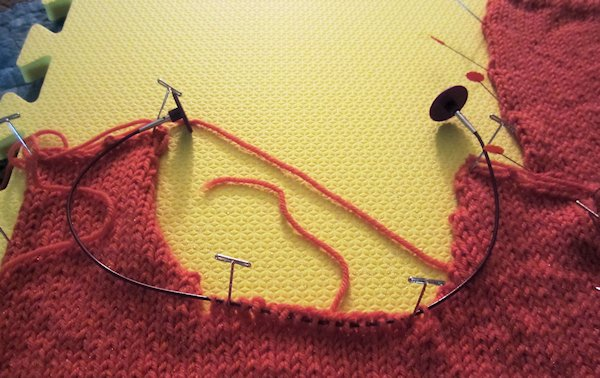 Cables Left in Stitches