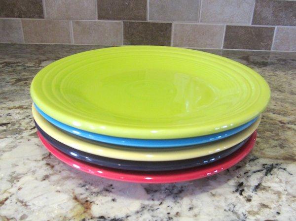 Fiesta Luncheon Plates