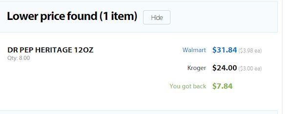 Walmart's Savings Catcher