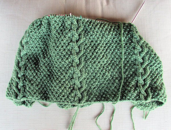 Another Test Knit – A Cowl
