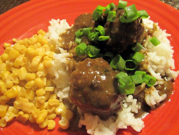 Meatballs & Gravy