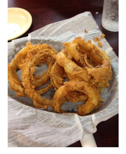 Diamond R Onion Rings