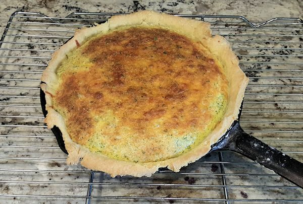 Cheesy Corn Quiche
