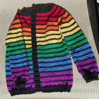 Addie's Rainbow Sweater