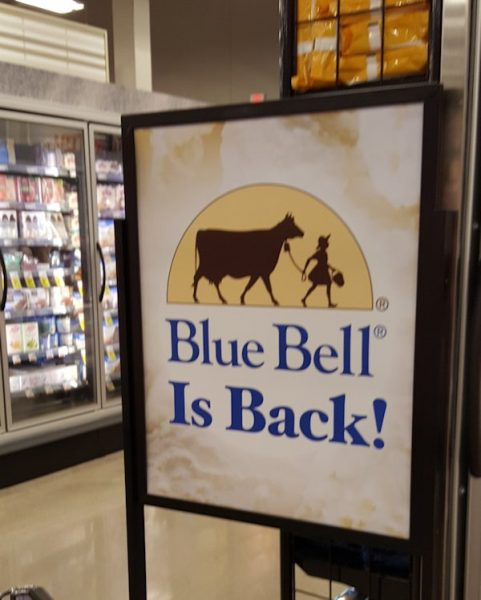 Welcome Back, Blue Bell!