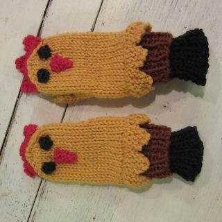 Chicken Mittens