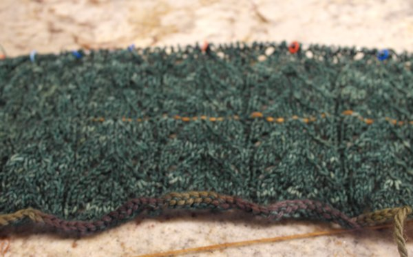 how to put in a lifeline in knitting