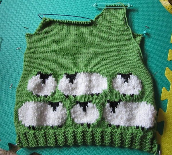 Addie's Sheep Sweater