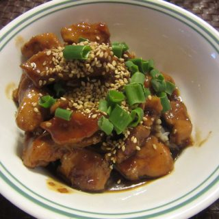 Honey Sesame Chicken in Pressure Cooker