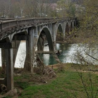 An Old Bridge