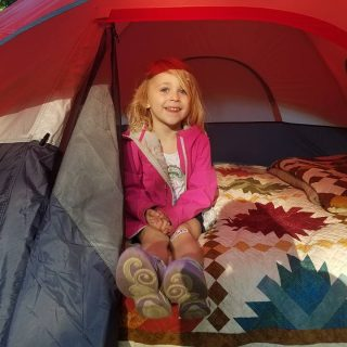 Addie's First Camping Trip