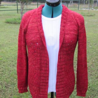 Campside Cardi Finished