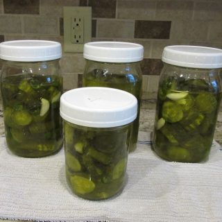 Sweet Pickles from Dill Pickles