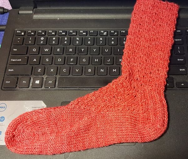 One Sock Done