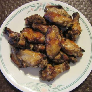 Wings Done in Air Fryer