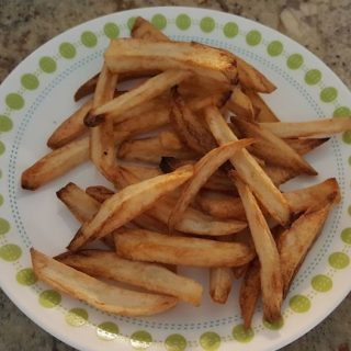 Homemade Fries in the Air Fryer