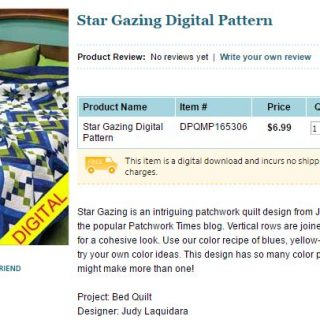 Star Gazing Quilt Pattern