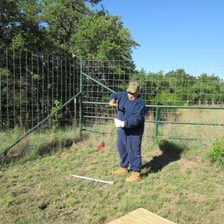 Keyhole Garden – First Step