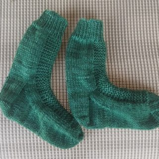 Addie's Socks Finished