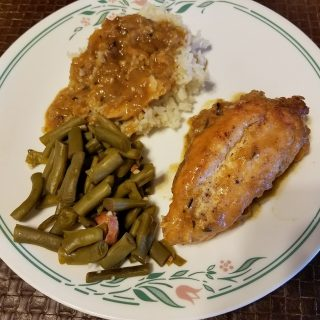 Smothered Chicken With Gravy