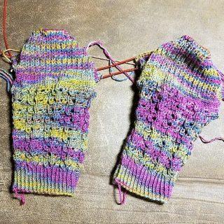 Winter Rose Socks #2