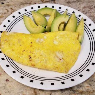 Brisket Omelette
