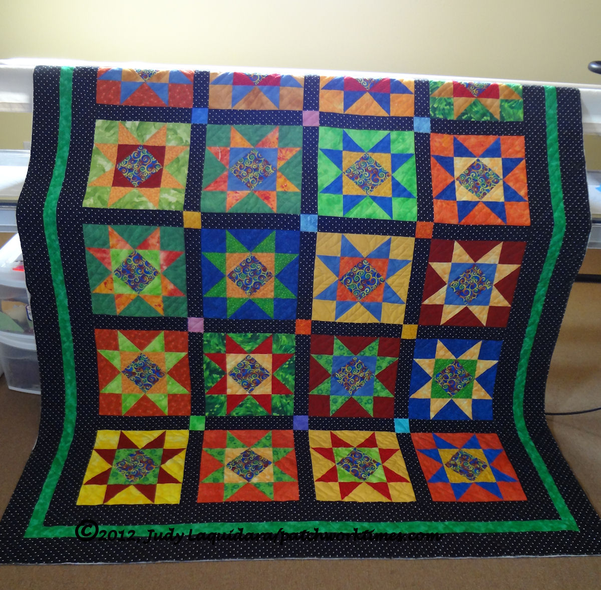 Bright Stars is Quilted