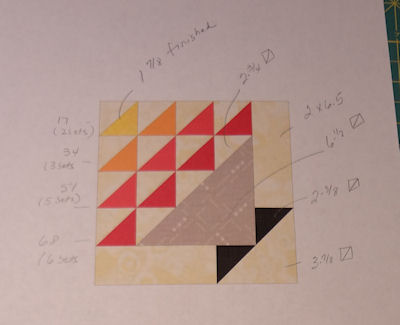 The March Color Palette Quilt
