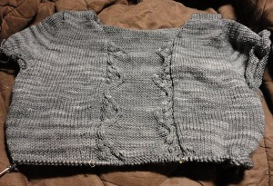Cable Front Pullover
