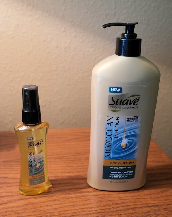 Luxurious Skin Care from Suave Professionals®