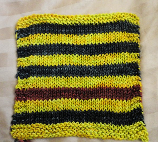Swatching Done for Next Project