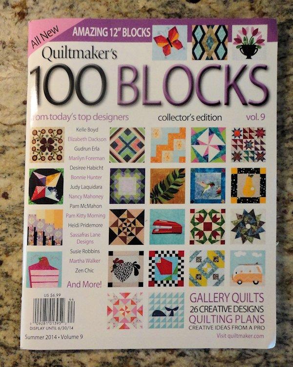 Quiltmaker's 100 Blocks, Volume 9