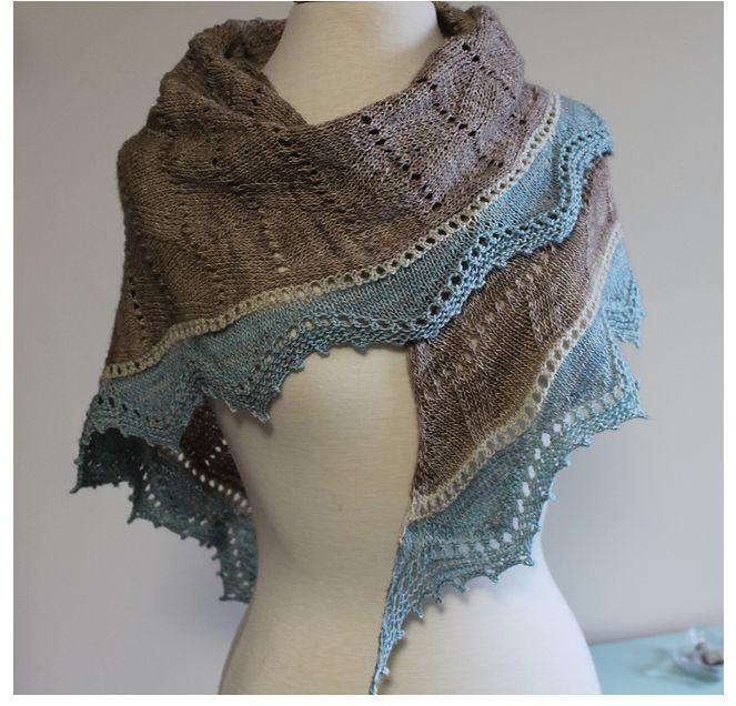 Sandpiper Shawl Knit Along