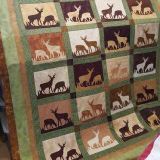 Deer Quilt Update