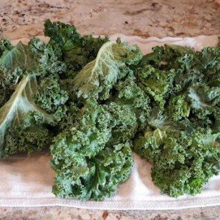 Kale Chips & Air Fryer Tips