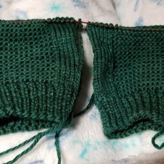 Late Night Knitting Report – Jan. 6, 2018
