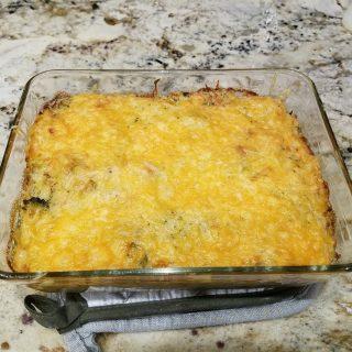 Chicken, Broccoli, Cheese Casserole