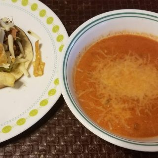 Tacos and Tomato Soup